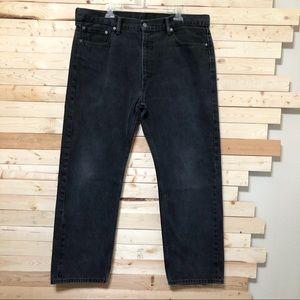 Levi's 505 Charcoal/ Blackish Men's Jeans size 40